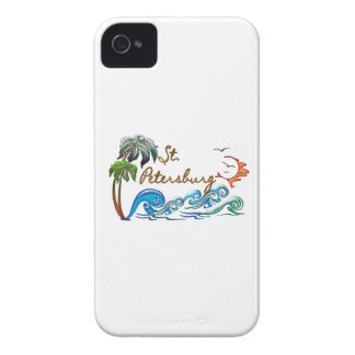3d Palms, Waves & Sunset ST PETERSBURG iPhone 4 Case