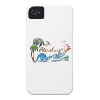 3d Palms, Waves & Sunset ST PETERSBURG iPhone 4 Case