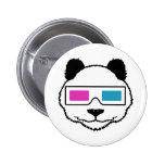 3D Panda Badges