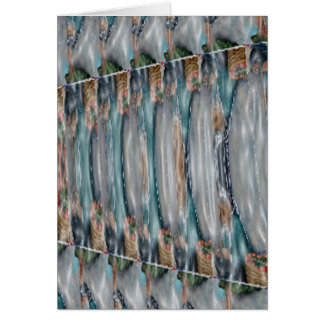 3d Pearl Precious Stone Collection Greeting Card