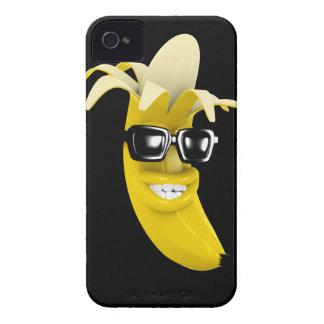 3d Peeled Banana wearing Shades (Any Color U Like! iPhone 4 Cases
