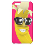 3d Peeled Banana wearing Shades (Any Color U Like! Case For iPhone 5C