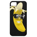 3d Peeled Banana wearing Shades (Any Colour U iPhone 5 Cases