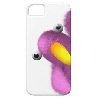 3d Pink Bird Peeping iPhone 5 Case