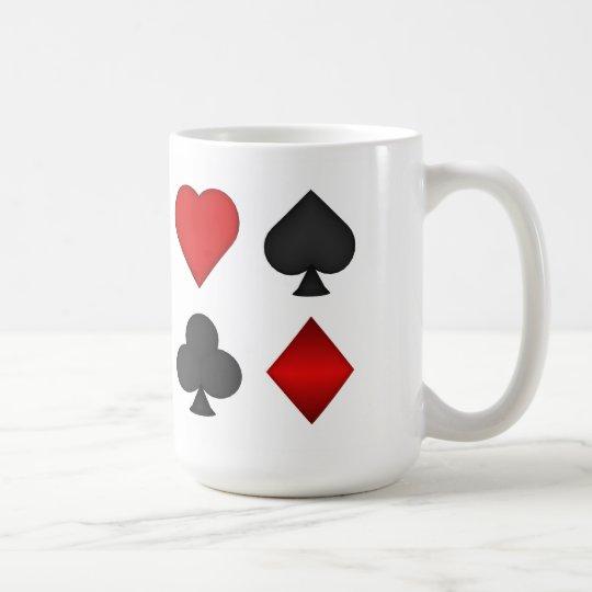3D Playing Card Suits - Coffee Mug #2