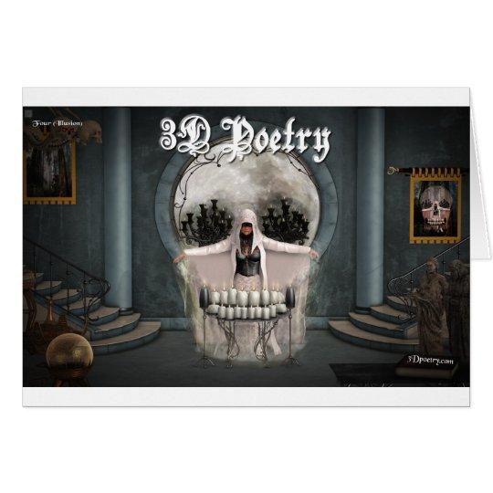 3D Poetry Merchandise Card