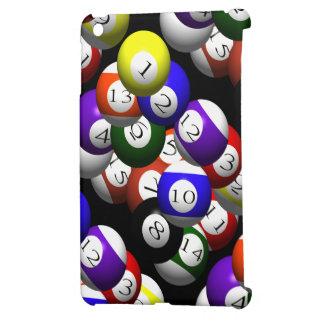 3D POOL BALLS iPad MINI COVER