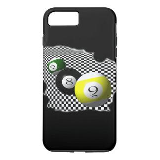 3D Pool Balls Psychobabble Splash iPhone 7 Plus Case
