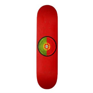 3D Portugal flag Custom Skateboard