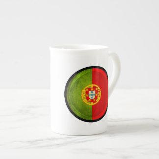 3D Portugal flag Bone China Mug
