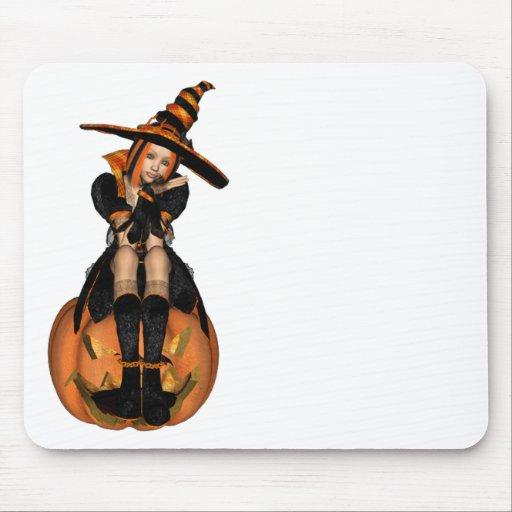 3D PUNK PUMPKIN GIRL - ORIGINAL MOUSE PAD