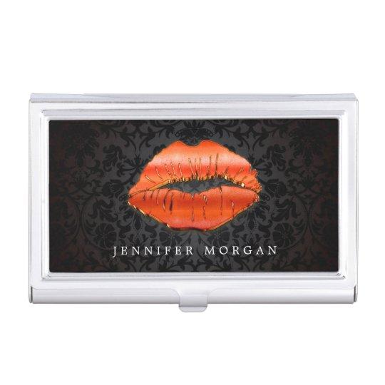 3D Red Lips Makeup Artist Beauty Salon Business