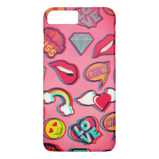 3D retro love pop iphone 7 plus case