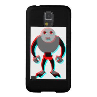 3D Robot Galaxy S5 Cases