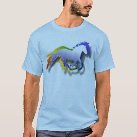 3D Running Horses T-Shirt