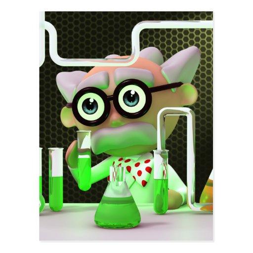 3d-scientist-lab postcards