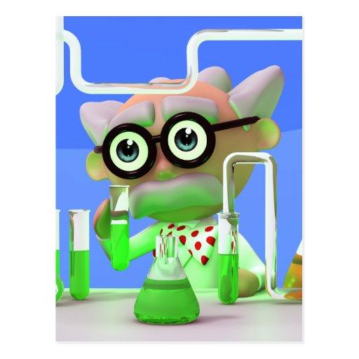 3d-scientist-lab postcard