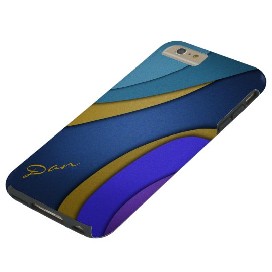 3D Shapes Tough iPhone 6 Plus Case