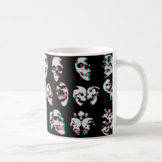 3D Skulls: Custom Coffee Mug