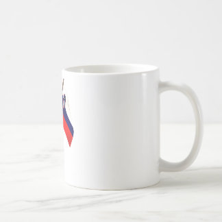 3D Slovenia Flag Coffee Mugs
