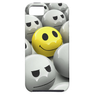 3d Smiley Grey March iPhone 5 Cover