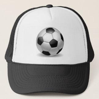 3D Soccer Football Trucker Hat