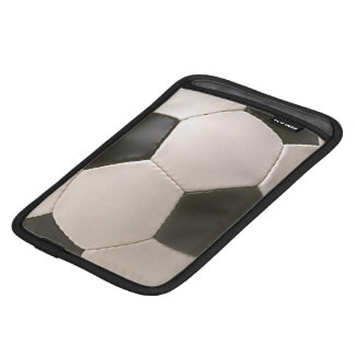 3D Soccerball Black White Football iPad Mini Sleeves