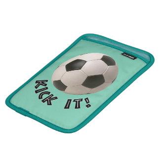3D Soccerball Sport Kick It iPad Mini Sleeves