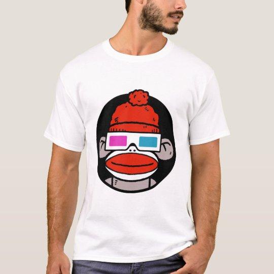 3D Sock Monkey T-Shirt