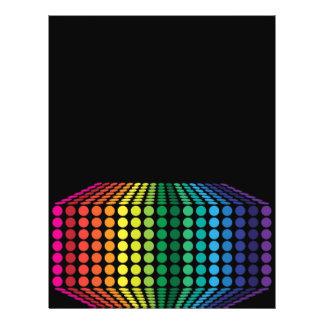 3D Spectrum Full Color Flyer