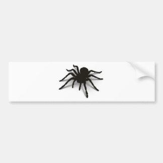 3D Spider Bumper Sticker