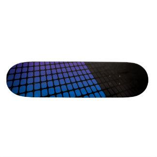 3D Squares Grid Layout Custom Skateboard