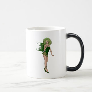3D St. Patrick's Day Green Fairy Mug