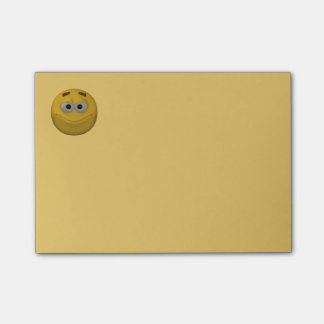 3d Style Smiley Post-it Notes