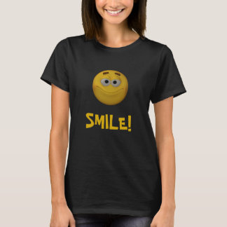3D Style Smiley T-Shirt