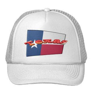3D Texas State Flag Cap