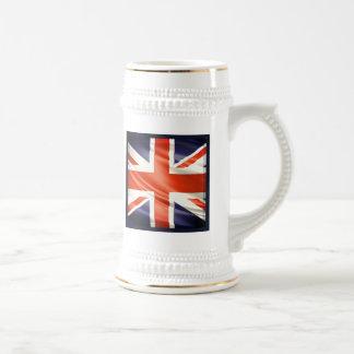3D UK flag Beer Steins