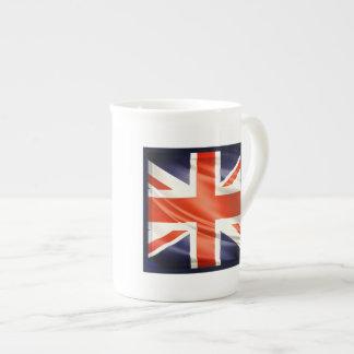 3D UK flag Porcelain Mug