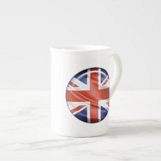3D UK flag Porcelain Mugs