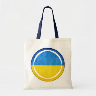 3D Ukraine flag Budget Tote Bag