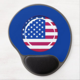 3D USA flag Gel Mouse Pad