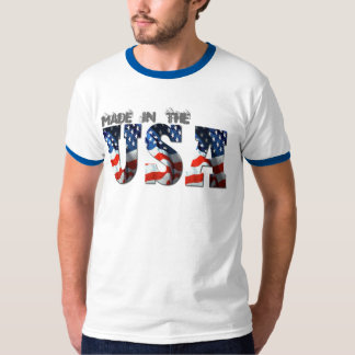 3D USA FLAG Patriotic Retro T-Shirts