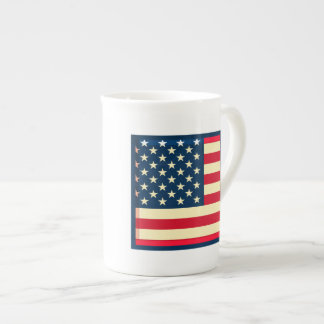 3D USA flag Bone China Mugs