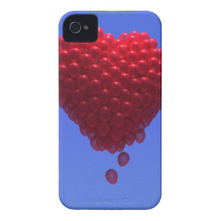 3d Valentines Balloons Heart Case-Mate iPhone 4 Cases