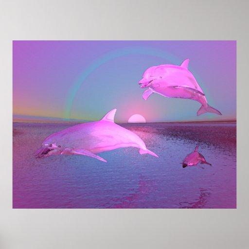 3D Water Fantasy Water Scene Poster