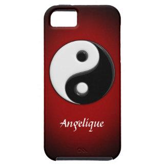 3D Yin Yang Customizable Tough iPhone 5 Case