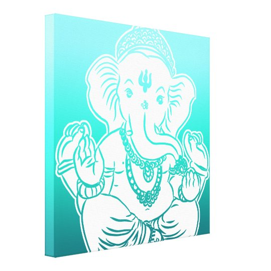 3FT x 3FT GANESH WALL GRAPHIC ART Canvas