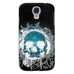 3G Gothic Skull Aqua  Galaxy S4 Case