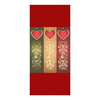 3hearts custom rack card