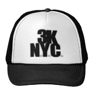 3K N.Y.C. With Baseballs Hats